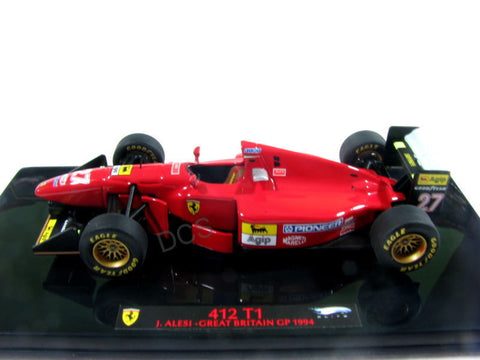 F1 Hot Wheels Elite 1994 Ferrari 412 T1 F92 A England G 1/43 Diecast Car