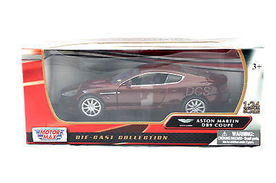 Aston Martin Db9 Coupe 2006 Burgundy New In Box