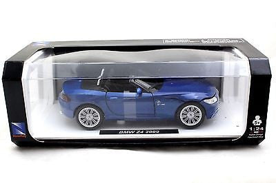 New Ray Special Edition 2009 Bmw Z4 Blue 1/24 Diecast Cars New
