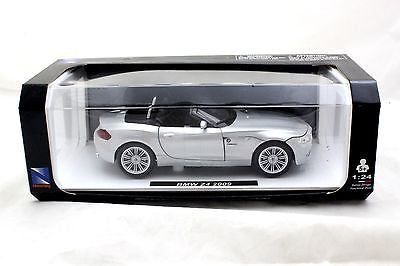 New Ray Special Edition 2009 Bmw Z4 Silver 1/24 Diecast Cars New