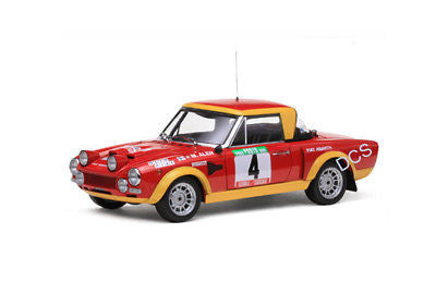 Sunstar Fiat 124 Abarth Rally # 4 Portugal 1974 1/18