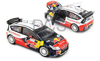 Norev Citroen C4 Wrc #1 Winner Rally 2010 Red Bull Loeb/Elena 1/18 New 181551