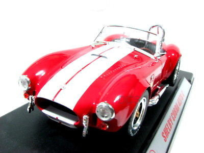 1965 Shelby Cobra 427 S/C Red 1/18 Scale Diecast Model