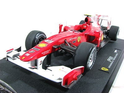 Hot Wheels Elite F1 Ferrari F10 Alonso #8 Diecast Model
