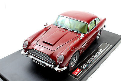 Sunstar Aston 1963 Martin Db5 Red 1/18 Diecast Car