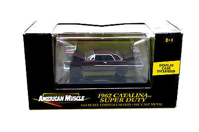 Ertl American Muscle 1962 Catalina Super Duty Limited Edition 1/64 Diecast Car