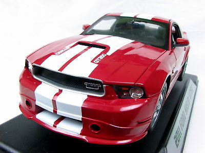 Shelby Collectibles 2011 Shelby Gt350 1/18 Red New