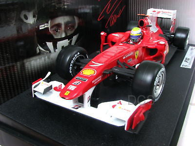 Hot Wheels 2010 Ferrari F10 Felipe Massa #7 1/18 F1
