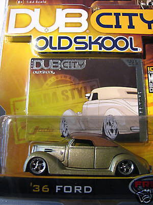 Jada Toys Old Skool '36 Ford 1/64 Scale New In Box