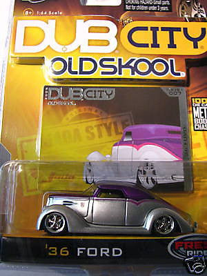 Jada Toys '36 Ford 1/64 Scale New In Box