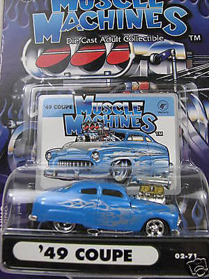 Muscle Machines ' 49 Coupe 1/64 Diecast Car