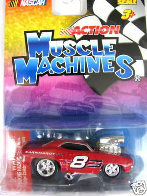 Muscle Machines Nascar 1/64 Chevrolet Camaro Z28 New
