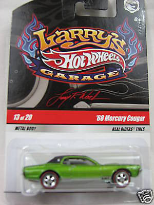 Hot Wheels Larry's Garage 68 Mercury Cougar