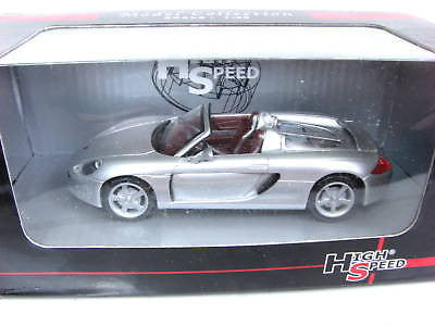 High Speed Porsche Carrera Gt 1/43 Diecast Car