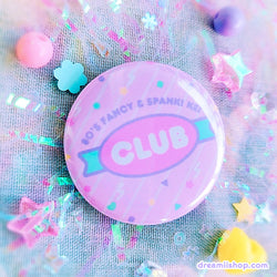 80's Fancy & Spank! Kei Club Pin