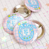 Kawaii Tamagotchi pin