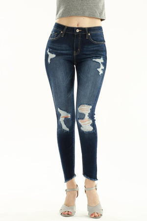 Kan Can - Houston Distressed Skinny Jean