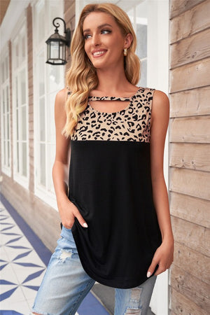 Cut Out Leopard Tank - PreOrder