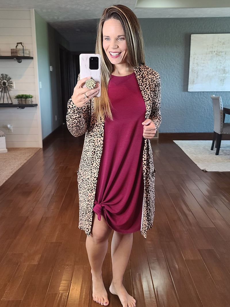 Wildly In Love Leopard Cardigan