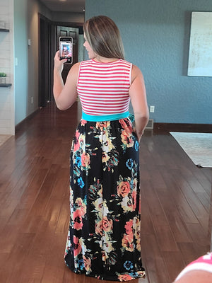 Mixed Feelings Maxi Dress