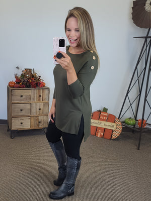 Most Loved Tunic - Olive