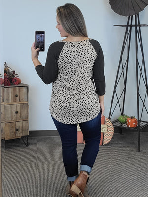 Mixed Emotions Leopard Top