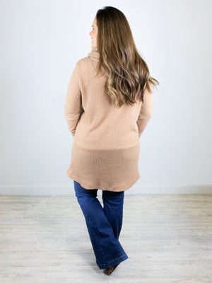 zz - Sunday Afternoon Thermal Top - Taupe