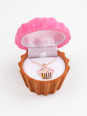 zz - Simply Sweet Cupcake Necklace