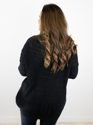 zz - Picture Perfect Cardigan - Black