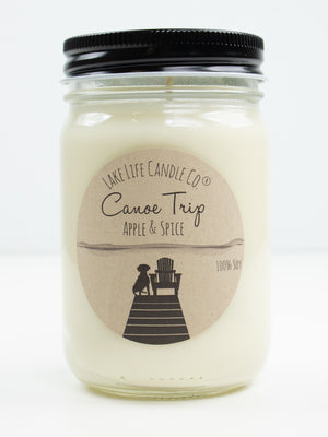Canoe Trip Candle