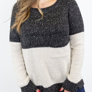 Take Comfort Sweater - Charcoal