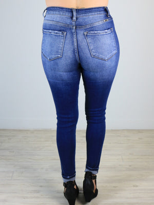 Kan Can - Georgia Ankle Skinny Jeans