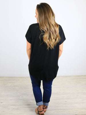 Day To Night Top - Black