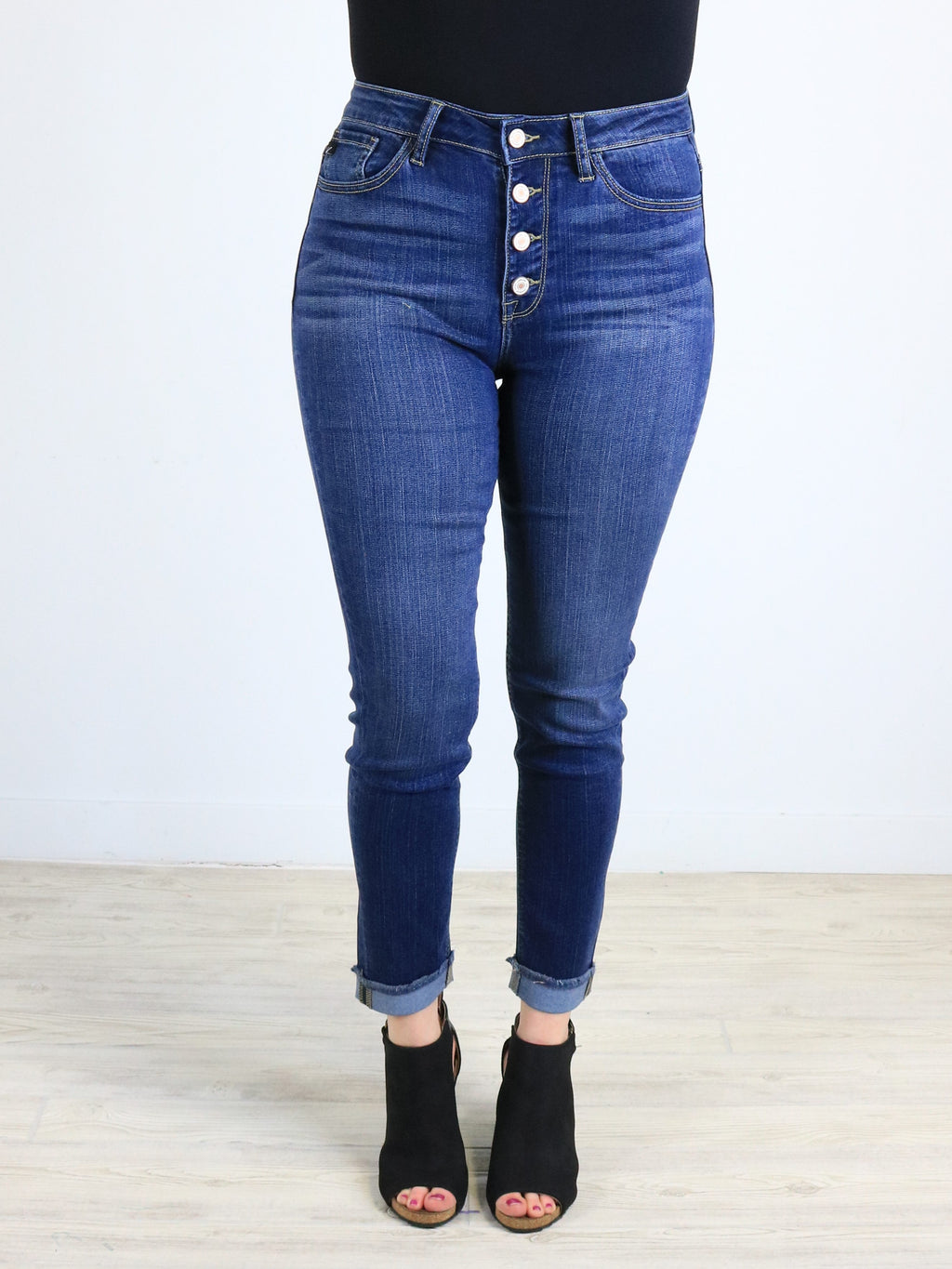 Kan Can - San Juan Ankle Skinny Jeans