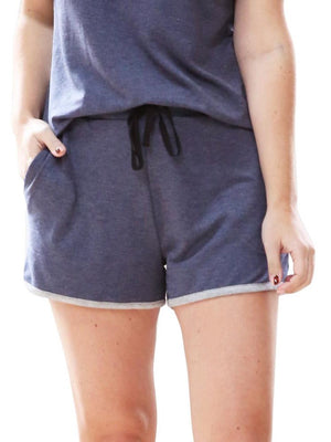 Lazy Days Shorts - Navy