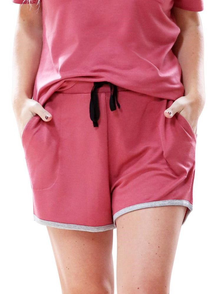 Lazy Days Shorts - Salmon