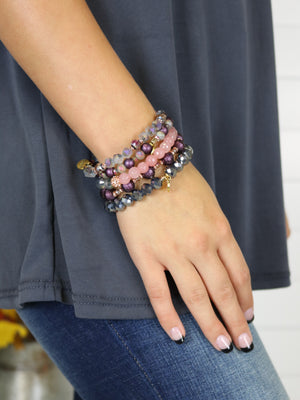 Stack Your Style Bracelet - Prism