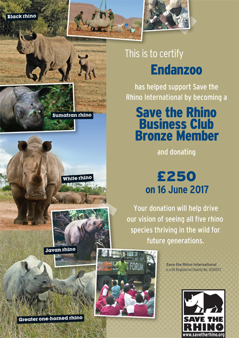 Endanzoo Save The Rhino