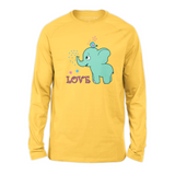Organic Long Sleeve Kids Tee Shirt - Emma & Her Best Friend