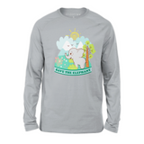Organic Long Sleeve Kids Tee Shirt - Emma In A Wonderful World