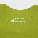 Organic Long Sleeve Bodysuit - Green