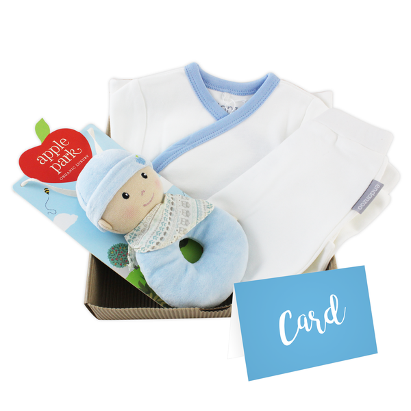 Personalized Organic Gift Box For Newborn Baby Boy