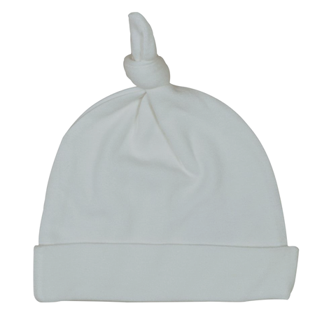 Endanzoo Organic Cotton Knotted Beanie - Grey