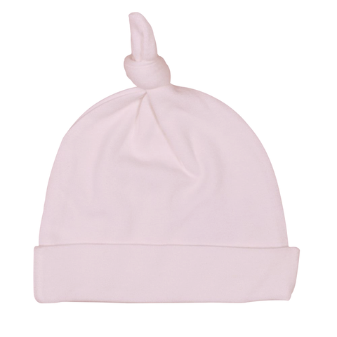 Endanzoo Organic Knotted Beanie - Pink