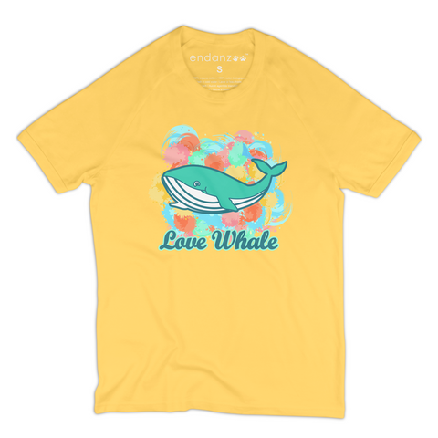 Colorful Whale Organic T-Shirt - Women