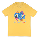 Organic Short Sleeve Kids Tee Shirt - Blue Throated Macaw World