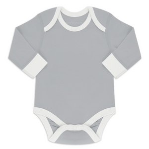 Endanzoo Organic Long Sleeve Onesie - Grey