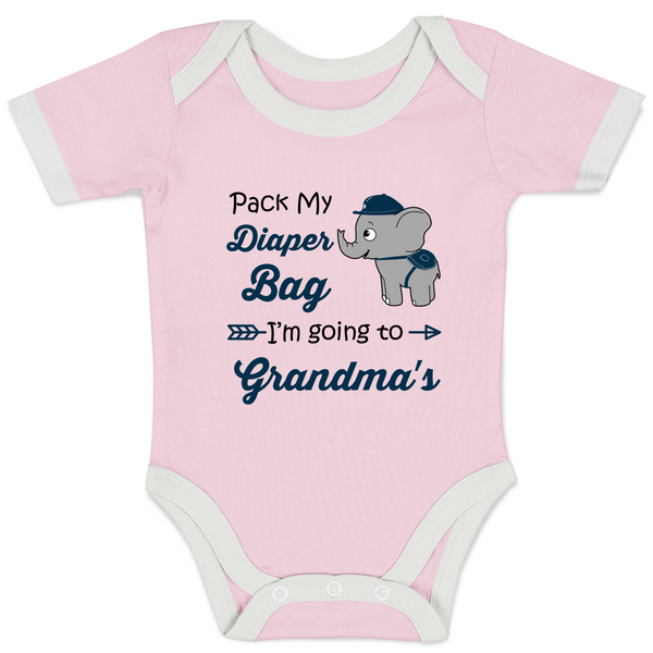 Going to Grandma's - Organic Baby Bodysuit