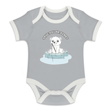 Matching Family Organic Tee Shirts - Polar Bear On Sea Ice (Grey)