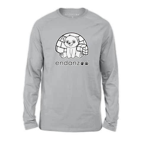 Organic Long Sleeve Kids Tee Shirt - Ben & Igloo
